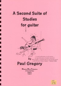 A  Second Suite of Studies available at Guitar Notes.
