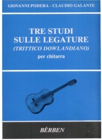 Tre Studi sulle Legature available at Guitar Notes.