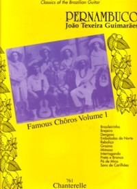 Famous Choros, Vol.1 (Fenicio/Reis/Santos) available at Guitar Notes.