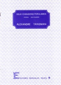 Deux Chansons Populaires available at Guitar Notes.