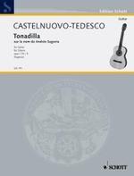 Tonadilla sur le nom de Andres Segovia available at Guitar Notes.