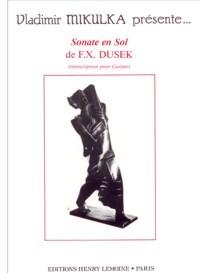 Sonata in G(Mikulka) available at Guitar Notes.