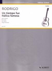 Un Tiempo fue Italica famosa available at Guitar Notes.