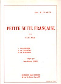 Petite Suite Francaise, op.60 available at Guitar Notes.