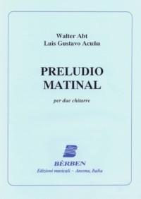 Preludio matinal available at Guitar Notes.