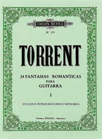 24 Fantasias Romanticas, Vol.1 available at Guitar Notes.