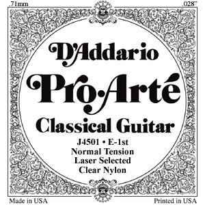 Pro Arte: J45-3T Clear/Normal/Treble Set available at Guitar Notes.