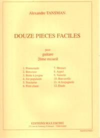 Douze Pieces Faciles, Vol.2 available at Guitar Notes.