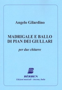 Madrigale e Ballo di Pian dei Giullari available at Guitar Notes.