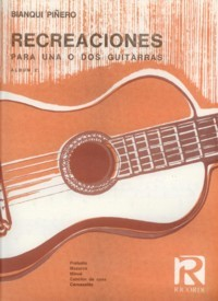 Recreaciones available at Guitar Notes.