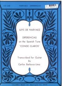 Diferencias sobre Conde Claros(Barbosa-Lima) available at Guitar Notes.