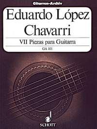 VII Piezas available at Guitar Notes.