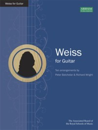 Weiss for Guitar(Batchelar/Wright) available at Guitar Notes.
