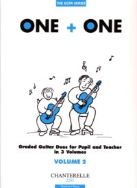 One+One, Vol.2 [Teacher's score] available at Guitar Notes.