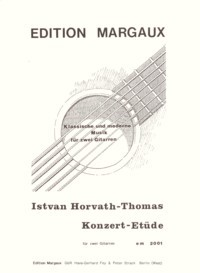 Konzert Etude available at Guitar Notes.