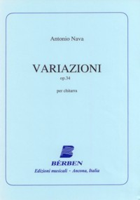 Variazioni, op.34(Agostinelli/Rossini) available at Guitar Notes.