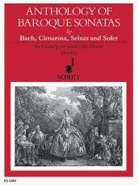 Anthology of Baroque Sonatas available at Guitar Notes.