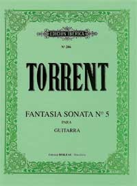 Fantasia Sonata no.5 available at Guitar Notes.