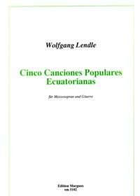 Cinco Canciones Populares Ecuatorianas available at Guitar Notes.