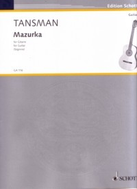 Mazurka available at Guitar Notes.