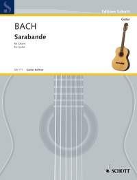 Sarabande in b-min(Segovia) available at Guitar Notes.