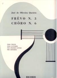Frevo no.3; Choro no.6 available at Guitar Notes.