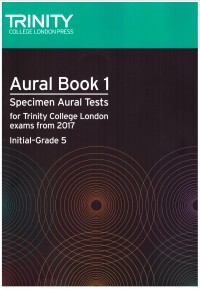 Aural Book 1(Initial-Grade 5) 2017- available at Guitar Notes.