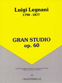 Gran Studio, op.60 available at Guitar Notes.