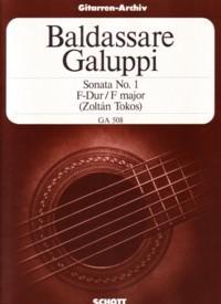 Sonata no. 1 in F(Tokos) available at Guitar Notes.