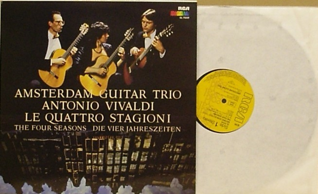 The Four Seasons Amsterdam Guitar Trio Guitarnotes Uk