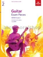 ABRSM Exam Pieces Grade 2 (2019) available at Guitar Notes.