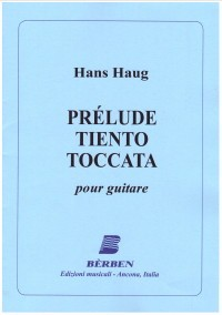 Prelude, Tiento & Toccata available at Guitar Notes.
