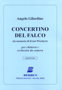 Concertino del Falco [2011] available at Guitar Notes.