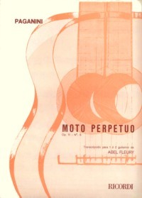 Moto Perpetuo(Fleury) available at Guitar Notes.