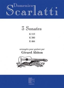 3 Sonatas(Abiton) available at Guitar Notes.