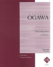 Trois chansons et danses available at Guitar Notes.