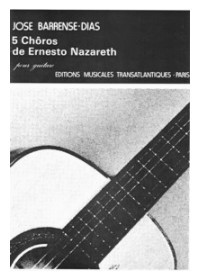 Five Choros (Barrense Dias) available at Guitar Notes.
