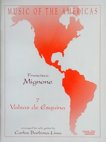 7 Valses de Esquina available at Guitar Notes.