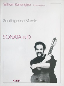 Sonata in D(Kanengiser) available at Guitar Notes.