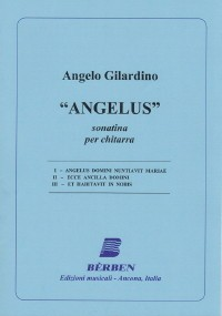 Angelus, sonatina available at Guitar Notes.