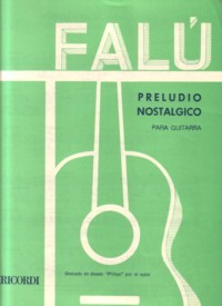 Preludio nostalgico available at Guitar Notes.