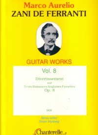 Guitar Works, Vol.8: Divertissement, op.8 available at Guitar Notes.