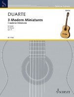 Three Modern Miniatures op.9 available at Guitar Notes.