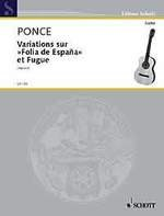 Variations sur Folia de Espana et Fugue available at Guitar Notes.