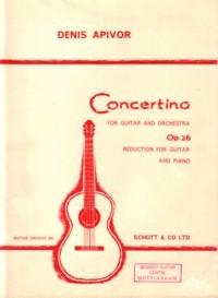 Concertino, op.26 [GPR] available at Guitar Notes.