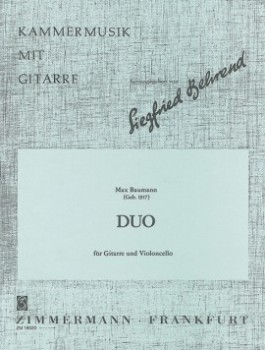Duo op.62 available at Guitar Notes.