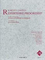 Repertoire Progressif Vol.5 available at Guitar Notes.