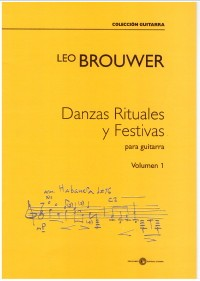 Danzas Rituales y Festivas Vol.1 available at Guitar Notes.