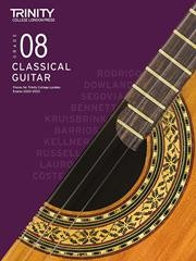 Classical Guitar Exam Pieces 2020-23 Grade 8 available at Guitar Notes.