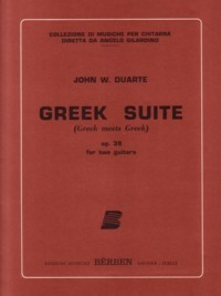 Greek Suite, op.39 available at Guitar Notes.